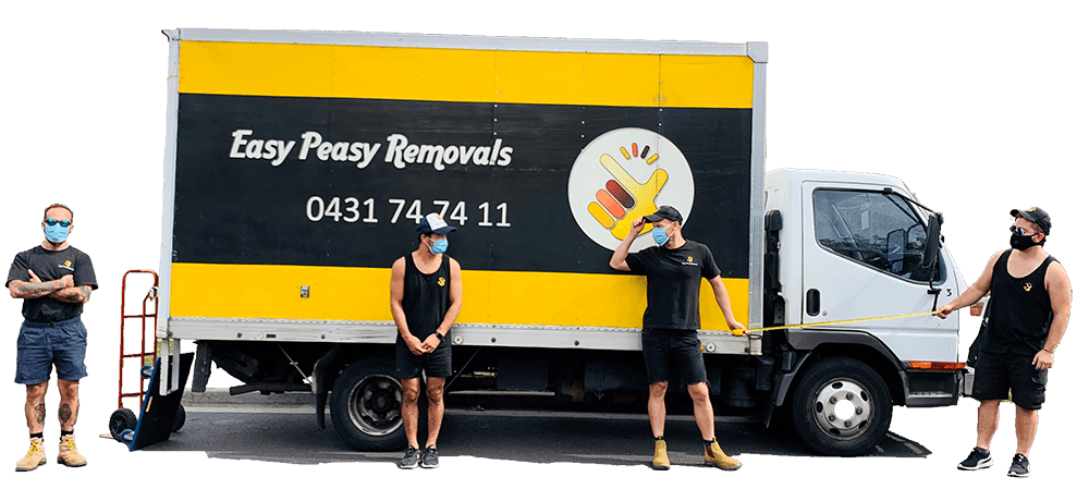 Easy Peasy Removals Ready to fight COVID 19