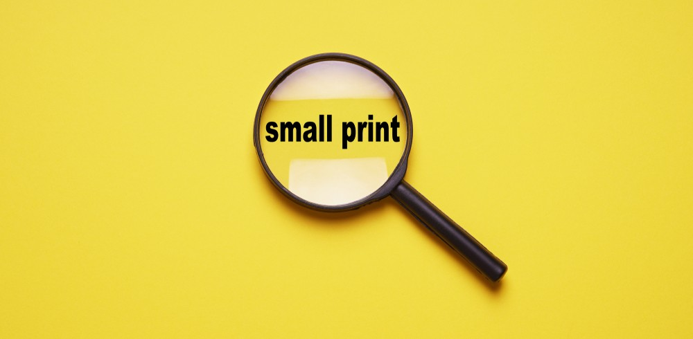 Small letter conditions can affect your moving bill