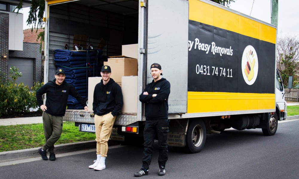 Select Easy Peasy Removals as your removalist in Melbourne