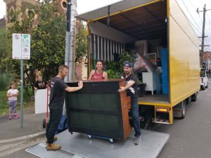 Prahran to Patterson Melbourne moving job Dec 2020 The truck is quite full lets add a piano