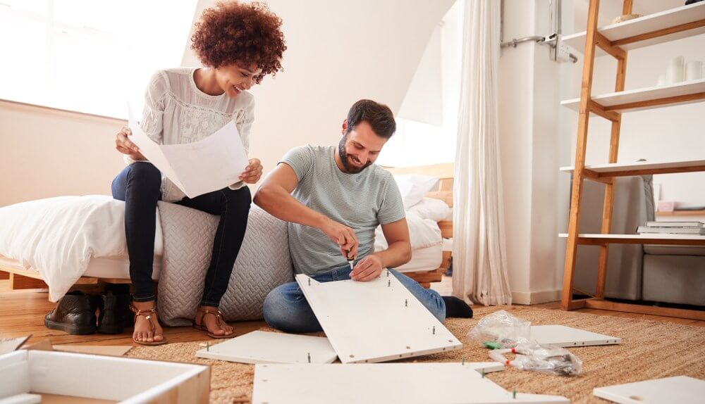 Tips for moving - Start early Disassembling furniture